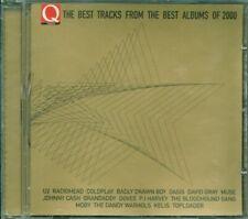 Q Magazine Best Tracks 2000 - U2/Radiohead/Coldplay/Oasis/Muse/Cash Cd Ottimo
