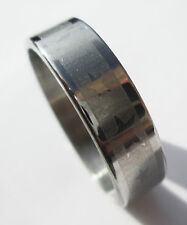 Star Stainless Steel Ring - Size 9  (19mm)