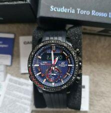 Casio Edifice ECB-800TR Solar Power toro Rosso Limited Edition Bluetooth Watch.