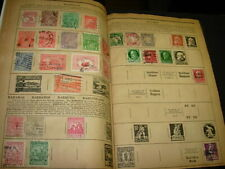 VERY COOL VINTAGE 1934 ALBUM PACKED WITH STAMPS!