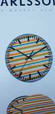Karlsson wall clock gift tin box .