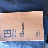 CAT 225 EXCAVATOR CATERPILLAR PARTS BOOK  S/N  51U