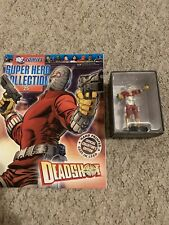 "DC SUPER HERO COLLECTION #25 ""DEADSHOT"" FIGURINE (EAGLEMOSS)"