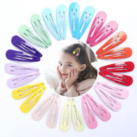 20Pcs Candy Color Hairpin Hair Clip Hair Pin Metal Barrettes Bobby Pins Acces