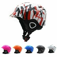 Ski Snowboard Helmet with Mini Visor Winter Snow Sports Adults Children Skiing