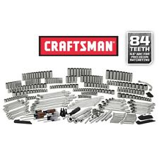 Craftsman 348 PC Mechanics Tool Set Ratcheting Wrench Deep Socket SAE Metric MM