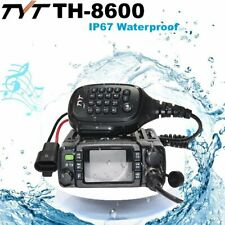 TYT TH-8600 IP67 Waterproof Dual Band 136-174MHz/400-480MHz 25W Mobile Car Radio