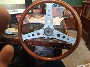 Personal Collaudo Wood SteeringWheel Vintage Rare Nardi trackstar mg triumph bmw
