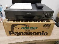7 Head S-VHS Recorder Panasonic nv-hs900eg with Remote Control / BDA Original