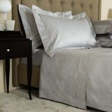 $1875 FRETTE ILLUSIONE QUEEN DUVET 5pc. SET 2 EURO 2 STANDARD SHAMS GRAY CLIFF