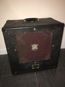 Vintage Bell & Howell Speaker, Cables & Case