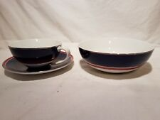 Tommy Hilfiger cup, saucer and bowl Rare China