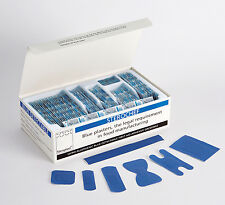 100 Box Assorted Blue Metal Detectable Catering Kitchen Washproof Plaster (PL01)