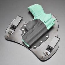 Bersa Thunder Pro Ultra 9mm Black Leather Kydex Gun Holster IWB Tuck