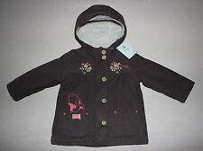 DISNEY BABY manteau marron blouson bébé WINNIE THE POOH, taille 12 mois,  neuf