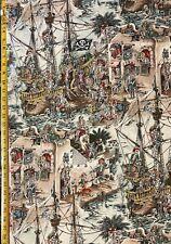 Selewags Alexander Henry Fabric Sailor, Nautical, Sea, Ocean