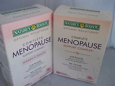 Natures Bounty Optimal Solutions Menopause Support, 60 Tablets each (2pk)