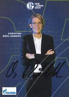 Christina RÜHL-HAMERS - Fussball, FC Schalke 04 2020/21, Vorständin Finanzen!