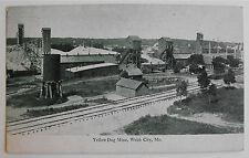 Antique Postcard-Yellow Dog Mine-Webb City Missouri-1907 to 1915