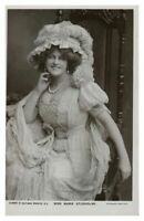Antique RPPC postcard Marie Studholme actress singer comedy stage theatre