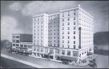 Vintage Daniel Boone Hotel Charleston West Virginia Black & White Postcard New
