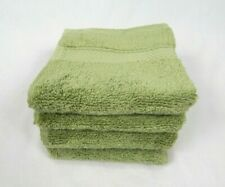 "Cannon Sage Green Egyptian Cotton 4-Pack Washcloths Set, 13""x13"""