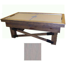Rustic Grey Maple Dynamo Rustic Air Hockey Table