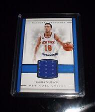 2016-17 National Treasures Sasha Vujacic Jersey Material 73/99 New York Knicks