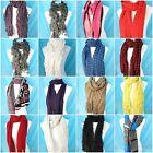 3.95 / each, wholesale lot of 15 unisex winter soft warm cozy scarves