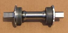 VINTAGE Ti Bottom Bracket JIS 68/73 x122mm Adjustable Position ENGLISH Titanium