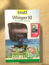 Tetra Whisper IQ Aquarium Power Filter for Tanks 10 gallons New