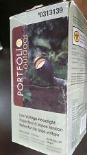 Portfolio Outdoor Low Voltage Halogen Floodlight -Black