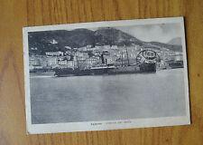 CARTOLINA SALERNO INTERNO DEL PORTO VIAGGIATA 1931 SUBALPINA HH