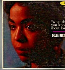 """DELLA REESE  on LP """" WHAT DO YOU KNOW ABOUT LOVE """" R&B soul funk"""