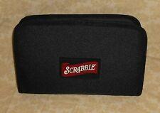 Scrabble ~ Travel Size Board Game & Zip-Up Folio Storage Carrying Zipper Case