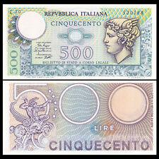 Italy 500 Lire, 1974/1979, P-94, UNC