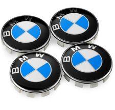 4 CENTRE DE ROUE BMW CARBONE NOIR 68MM: E46 E39 E38 E90 E60 E36 F30 F30 E34 F10