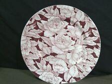 "Vtg. Myott,sons & Co""Bermuda""Pink Chintz Transferware Rose Dinner Plate,England"