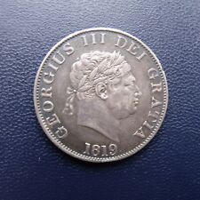 More details for 1819 half crown coin king george iii .925 silver. british coins