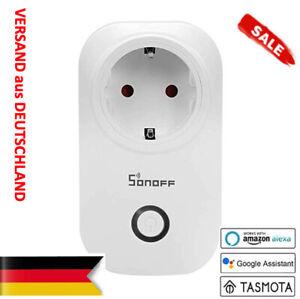 SONOFF S20 TASMOTA 9.4 - V.2021-Version (WLAN Steckdose) - NEU / OVP Smart Home