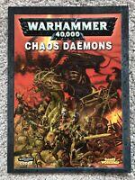 Warhammer 40k 40,000 Codex Chaos Daemons Fifth 5th Edition Book
