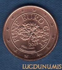 Autriche 2009 2 Centimes d'euro SUP SPL Provenant de rouleau - Austria