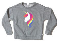 Preowned- Gap Kids Pullover Unicorn Graphic Sweater Girls (Size L/10)