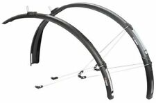 ZEFAL PARAGON C40 26/28 ROAD BIKE CYCLE FRONT REAR MUDGUARD SET (40mm)