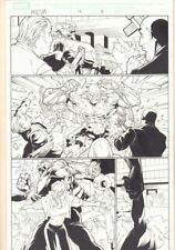 Marvel Knights Spider-Man #16 p.3 - Absorbing Man Action - 2005 art by Billy Tan Comic Art