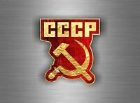 Sticker ussr cccp sssr urss russia soviet union flag decal emblem russian car r5
