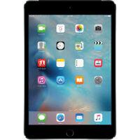 Apple - iPad mini 4 Wi-Fi + Cellular 128GB, MK8D2LL/A - Space Gray (C)