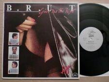 "B.R.U.T. - GIVE ME THE NIGHT / CHINAFREAK  / 12""MAXI / 1984 / BELGIUM / RARE"