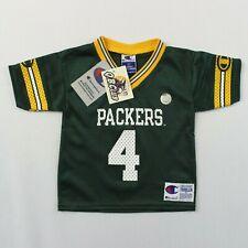Brett Favre 2T Toddler Champion Green Bay Packers Jersey New