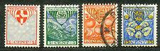 Nederland  199 - 202 gebruikt